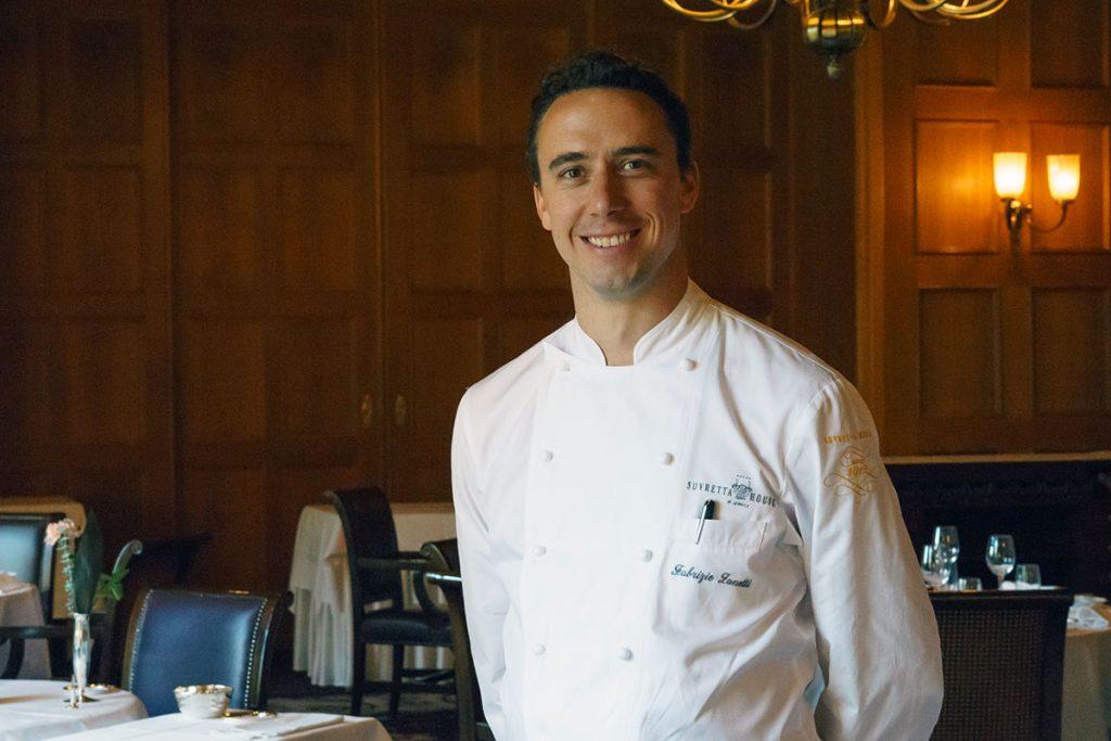 Luxus, der durch den Magen geht: Fabrizio Zanettis Kochkünste im Grand Restaurant verzaubern Gäste und die Kritiker des Gault Millau (16 Punkte)
