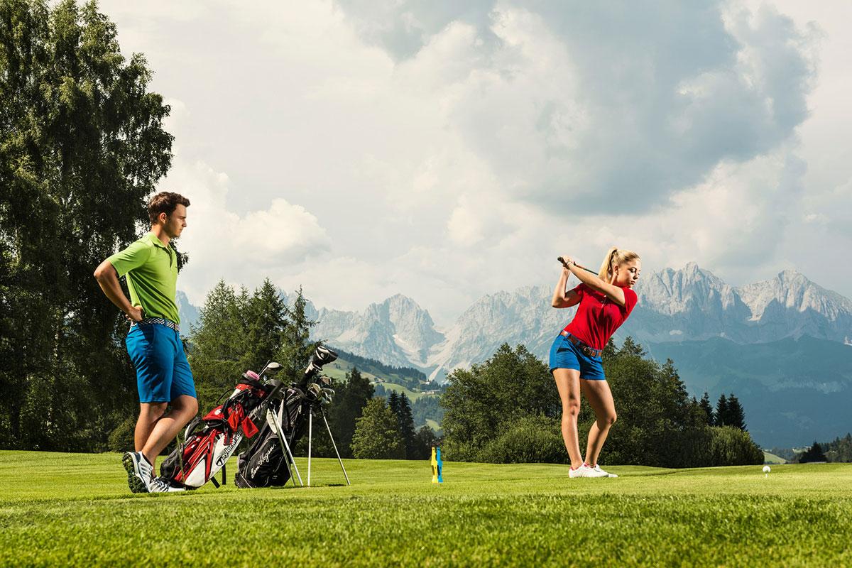 Golf Alpin Golfclub Kitzbühel-Schwarzsee
