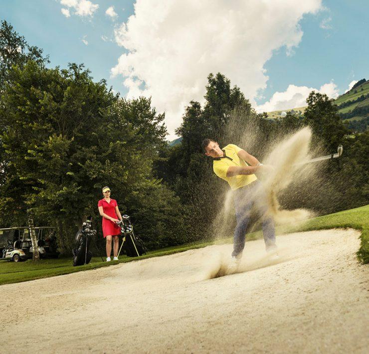 Golf Alpin Golfclub Mittersill