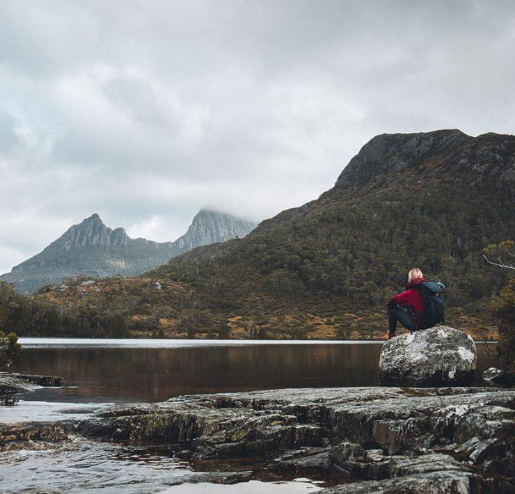 Lake Lilla Cradle Mountain / Lake St Clair National Park Tasmanien