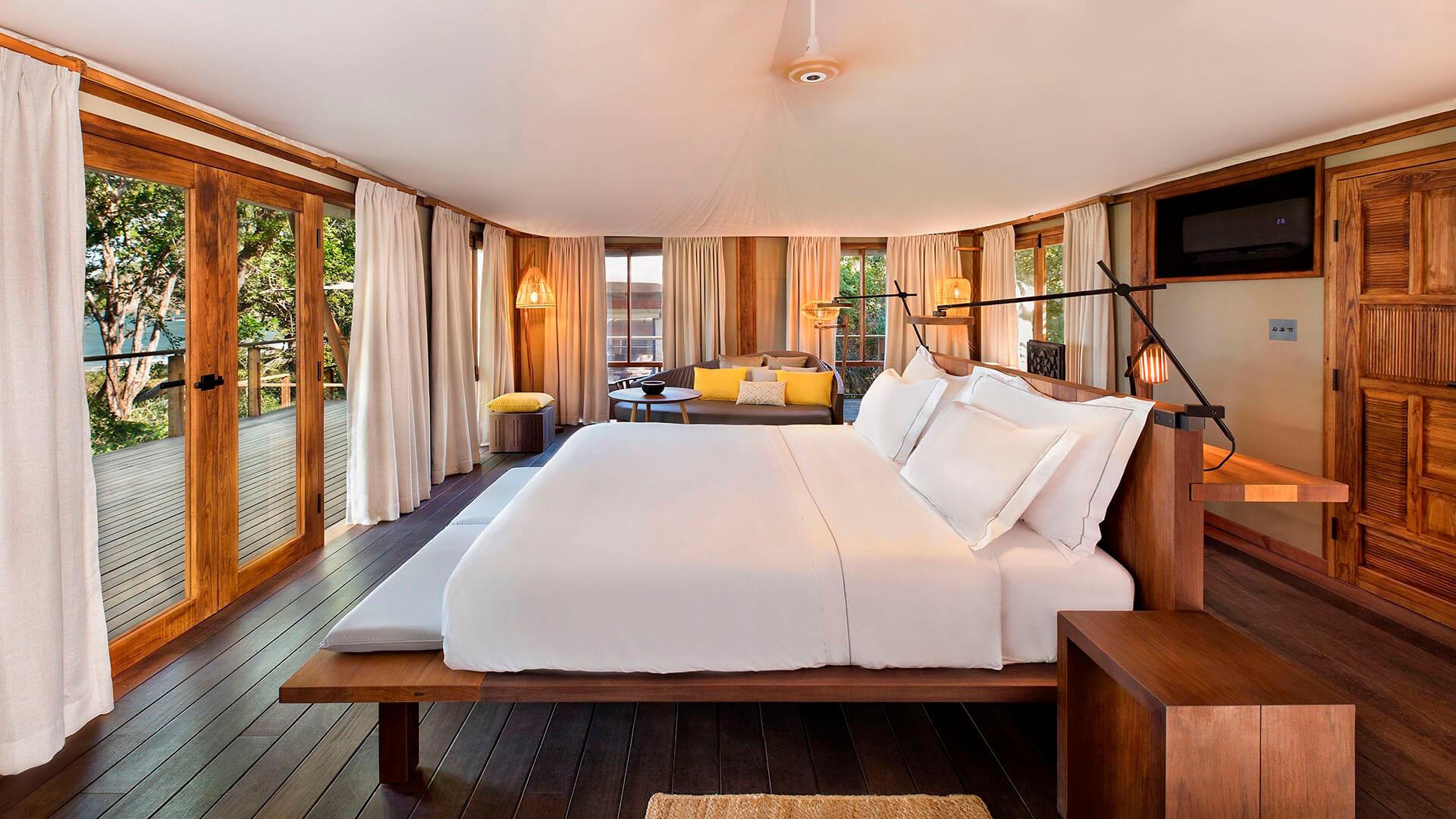 Kasiiya Hotel Schlafzimmer. Luxusreise