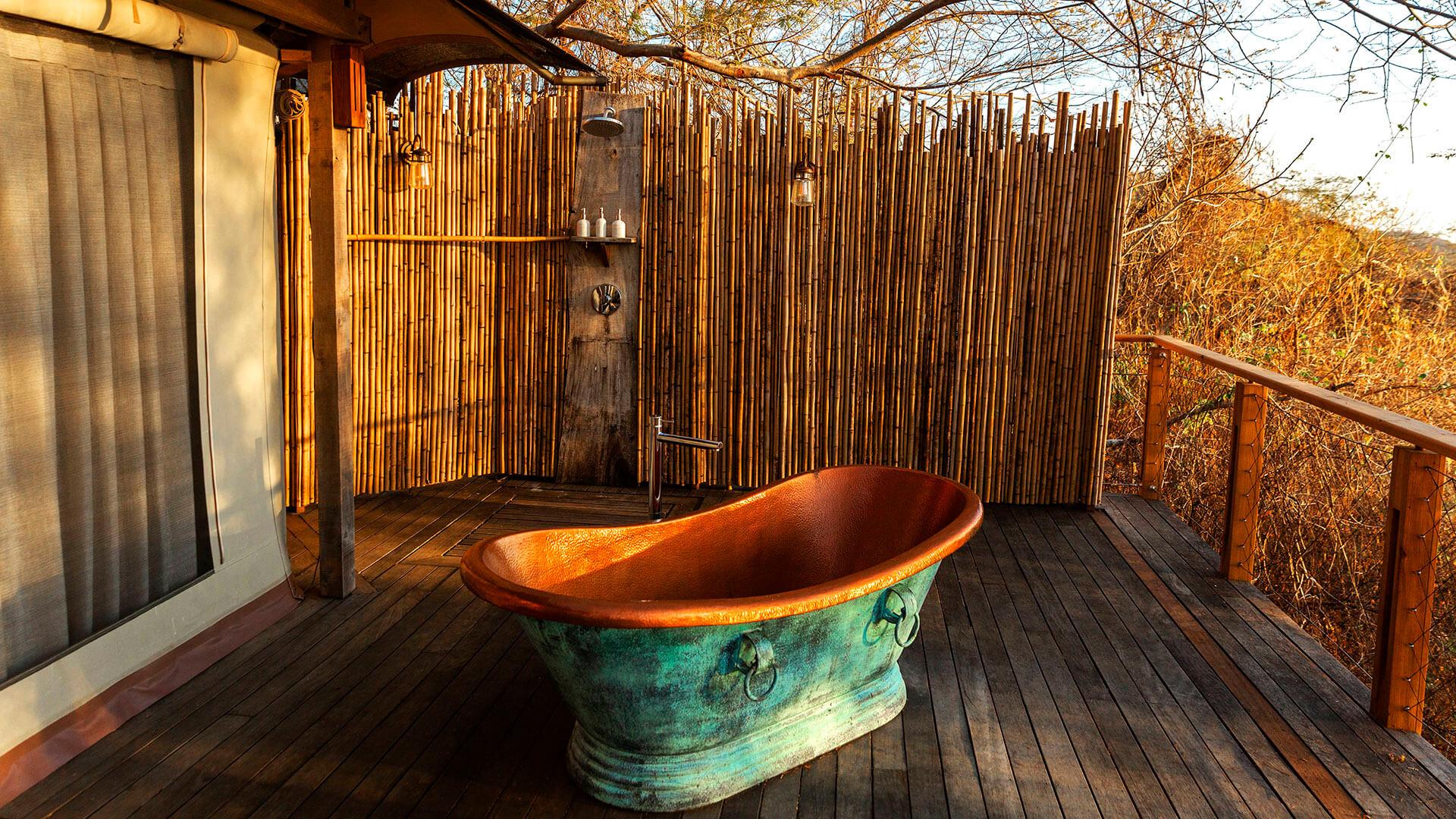 Kasiiya Hotel Badewanne. Luxusreise