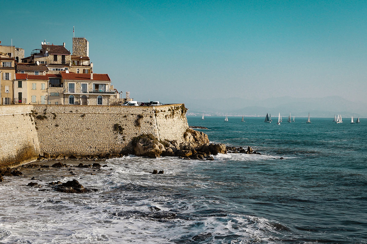 Antibes. Luxusreise