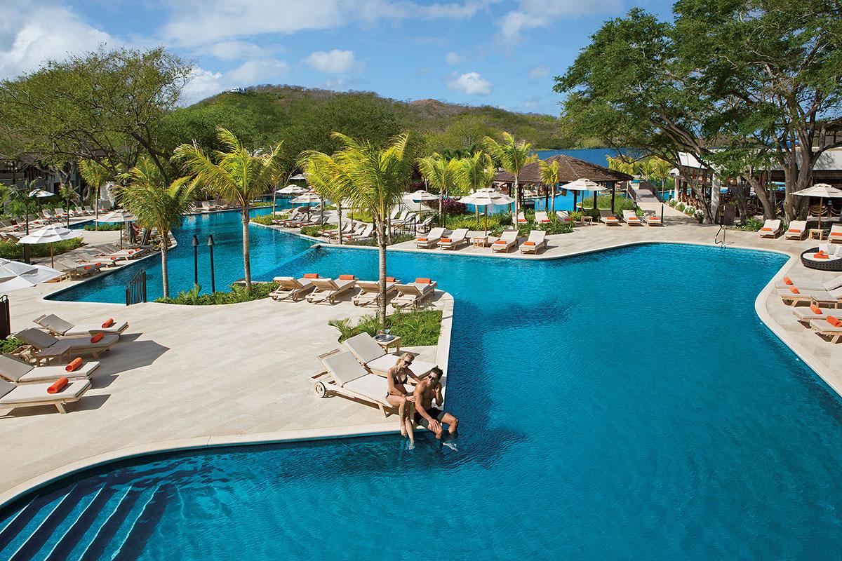Dreams Las Mareas Pool. Luxusreise