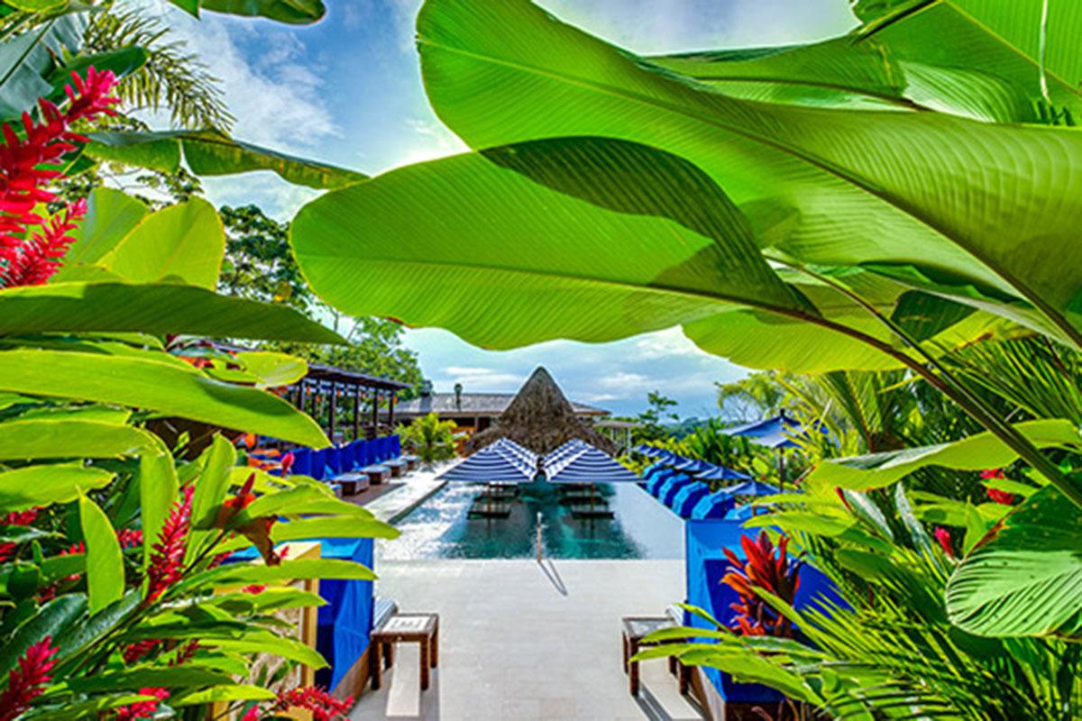 Nayara Springs Pool. Luxusreise