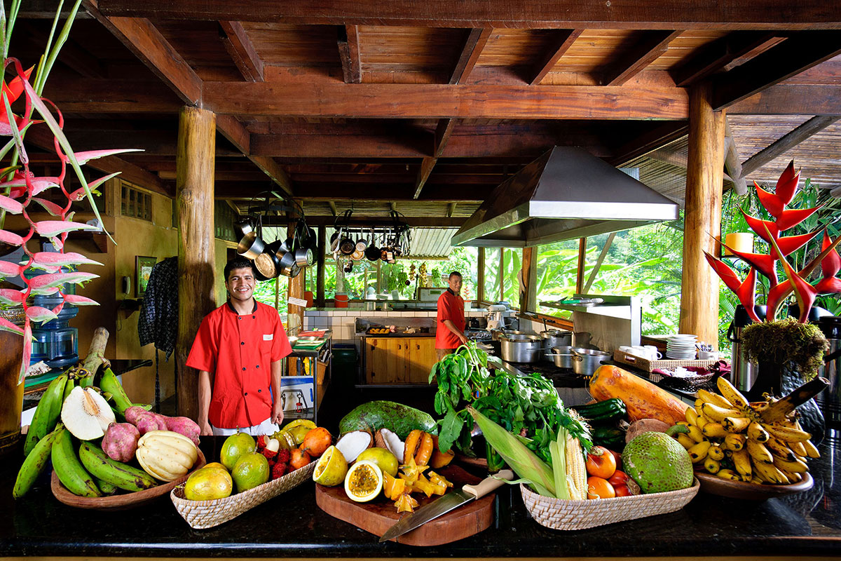 Pecuare Lodge Restaurant. Luxusreise