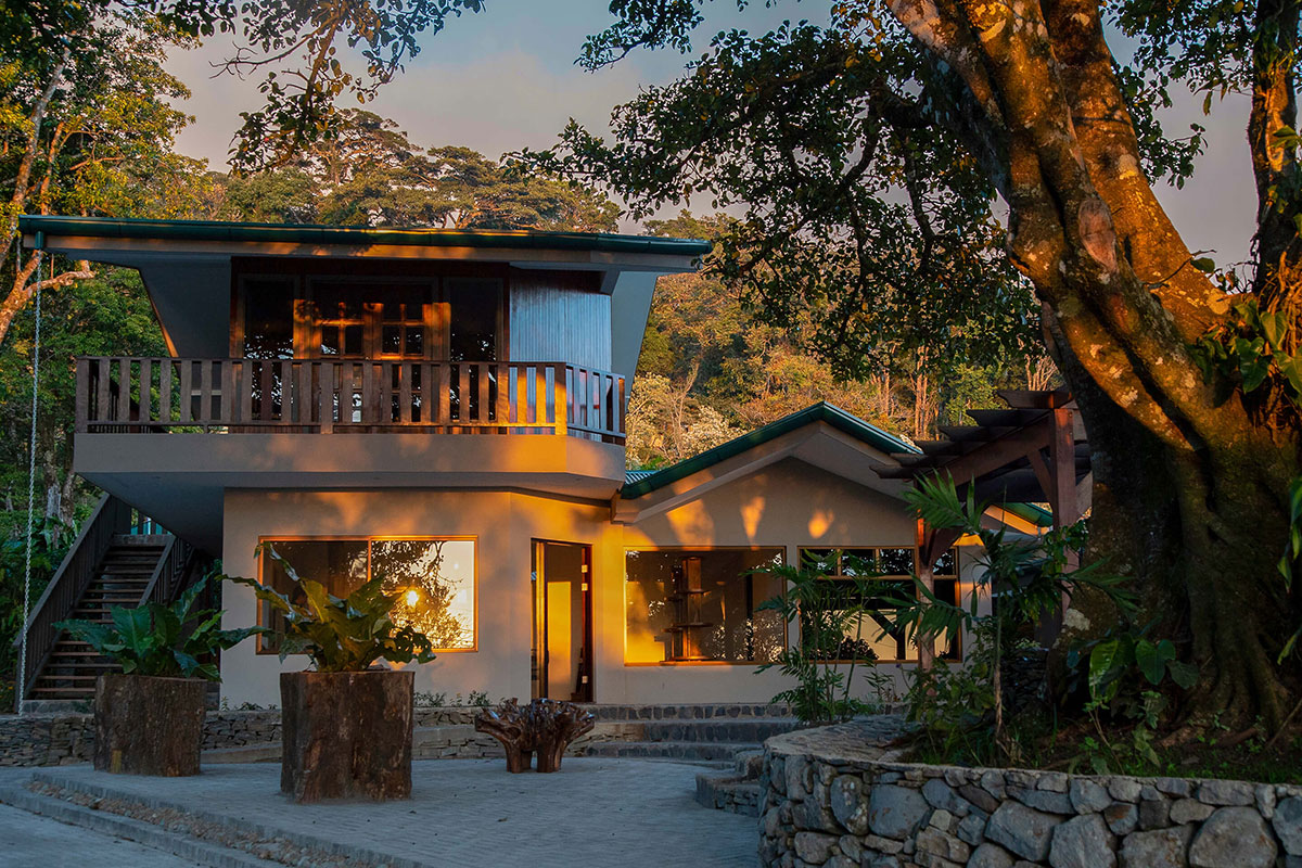Senda Monte Verde Außenansicht. Luxusreisen