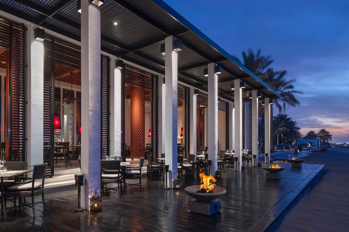 The Chedi Muscat Restaurant. Luxusreise