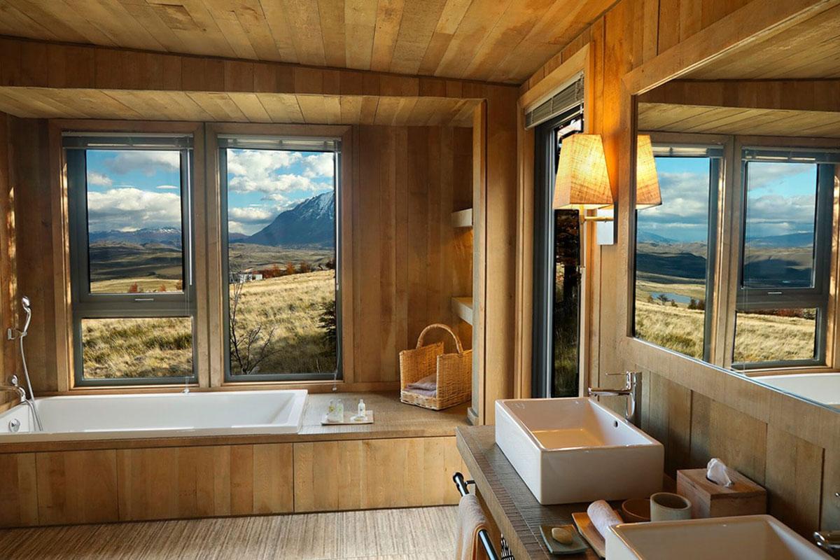 Awasi Patagonia: ein Bad mit Aussicht