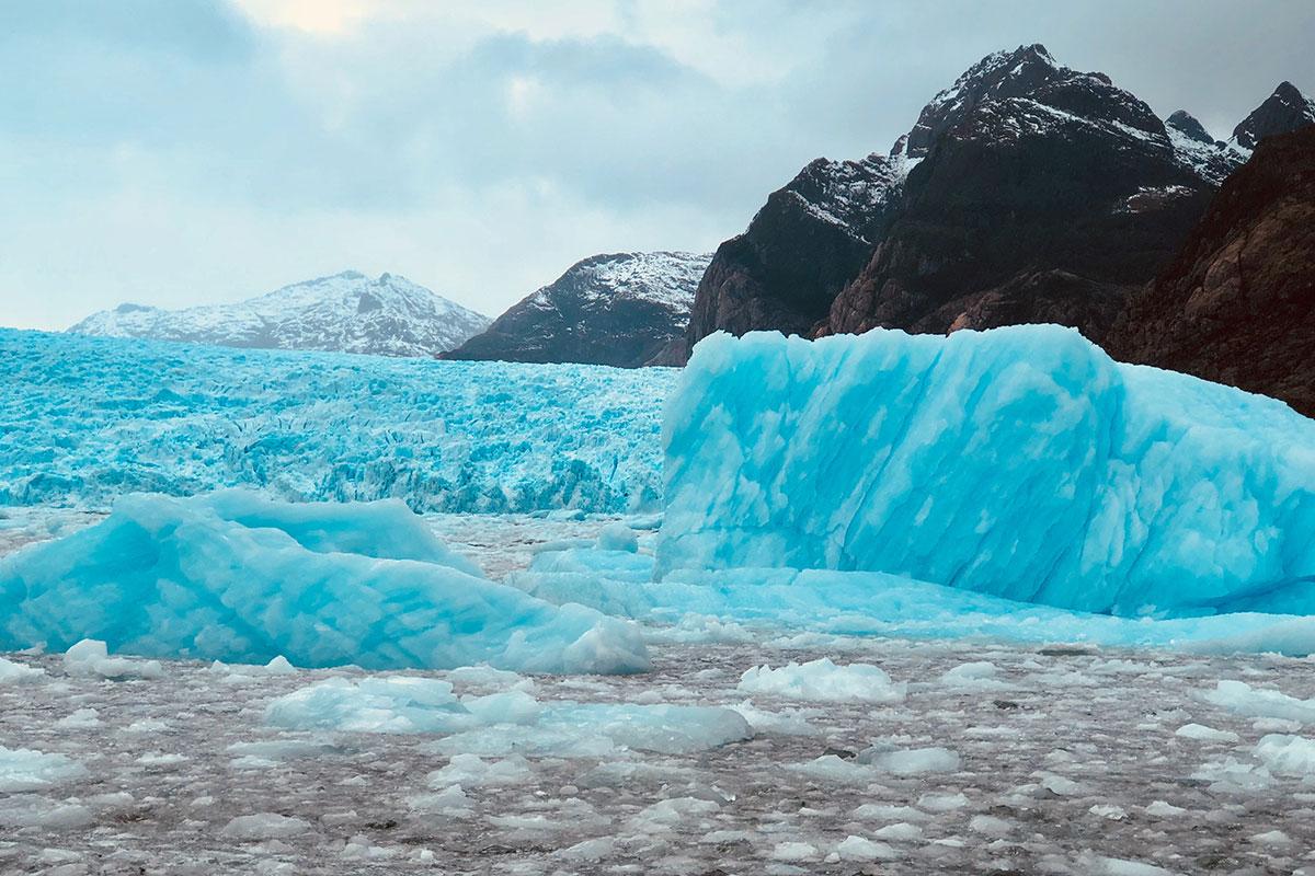 Gletscher in der Region Aysén. Best of Chile – Zwei Wochen Naturwunder-Luxusreise