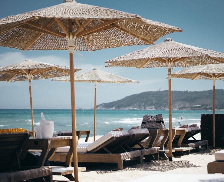 Saint Tropez, Frankreich. Luxusreisen. Der Duft der Ferne.
