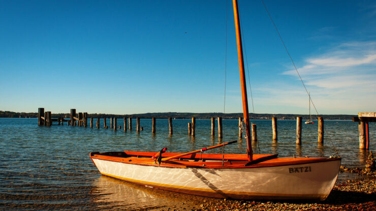 Starnberger See Boot. Luxusreisen