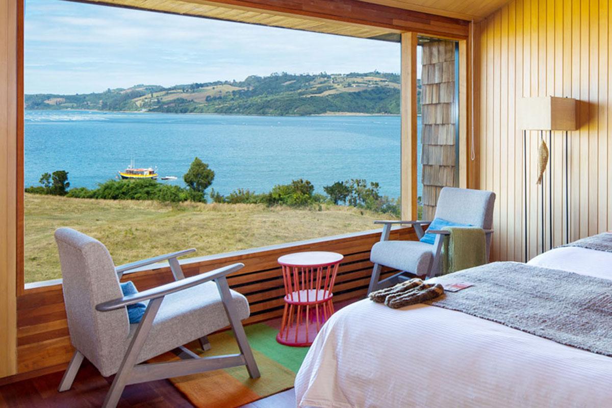 Tierra Chiloé: Traumhafte Aussicht. Luxusreisen