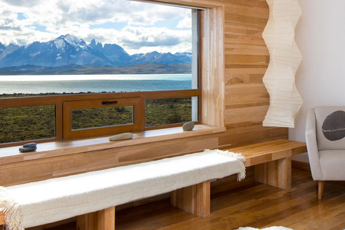 Tierra Patagonia: Spa. Luxusreise