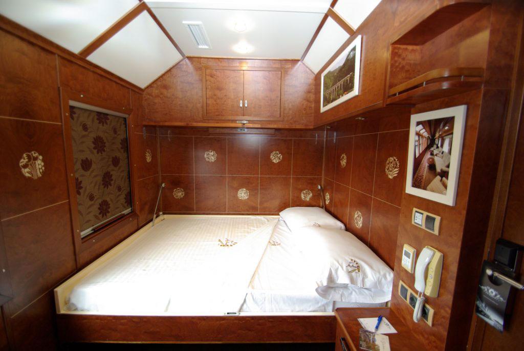 Tren Al Andalus: Deluxe Suite. Luxusreisen