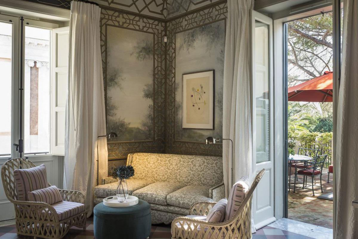 Eine Hotelperle - das Hotel Palazzo Margherita. Luxusreisen
