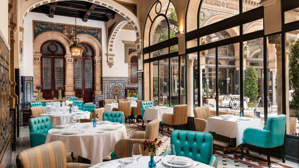 Hotel Alfonso XIII: Restaurant San Fernando. Luxusreisen