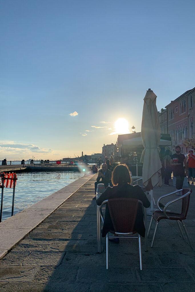 Sonnenuntergang Venedig Luxusreisen