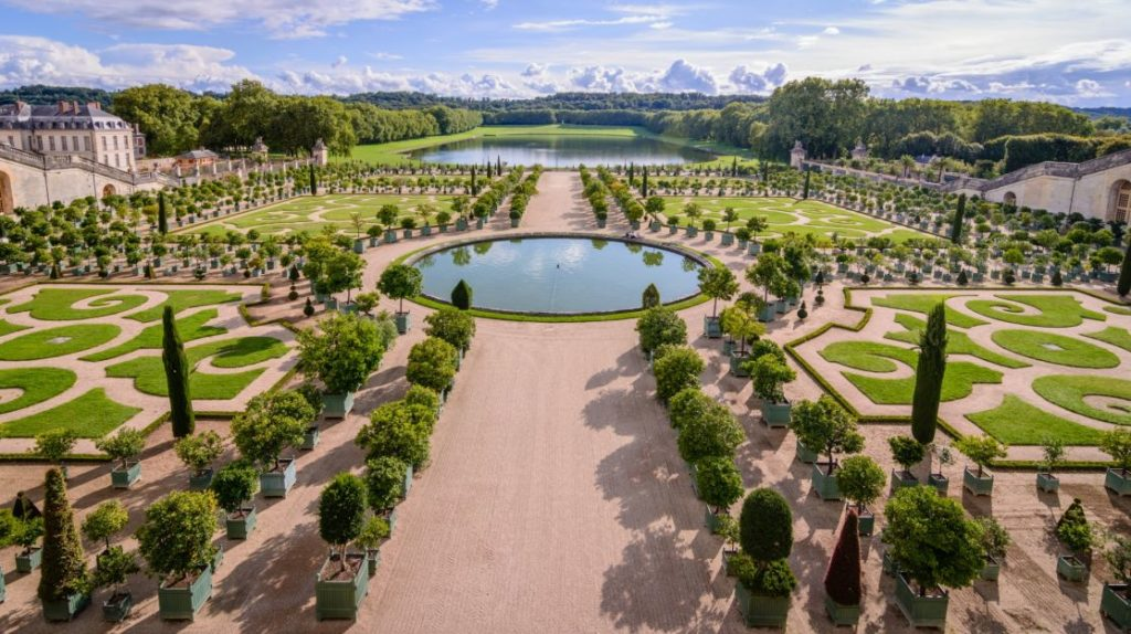 Die Gärten in Versailles. Luxusreisen