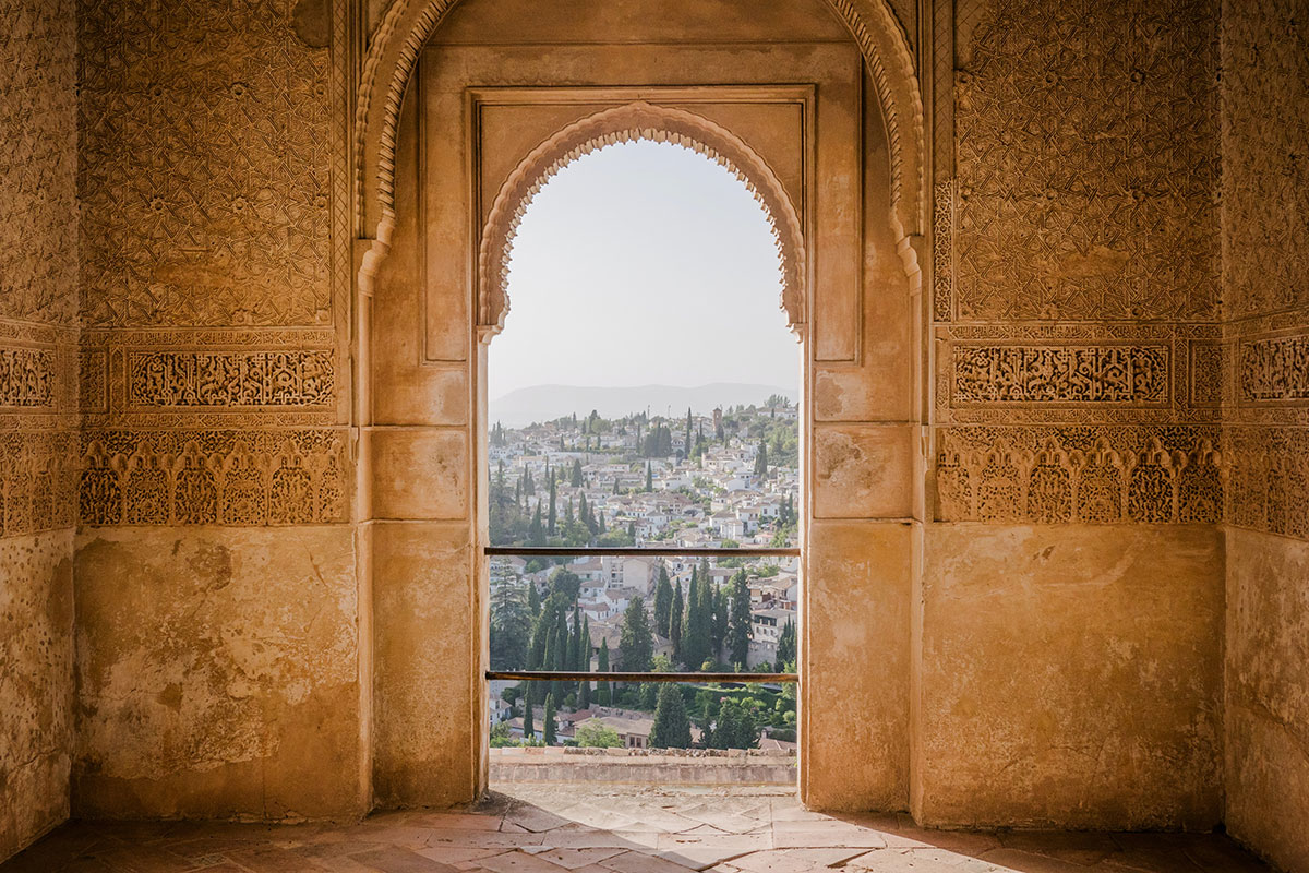 Alhambra Granada. Luxusreisen