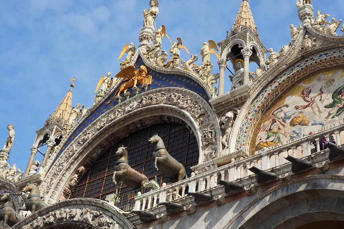 Die Basilica San Marco. Luxusreisen