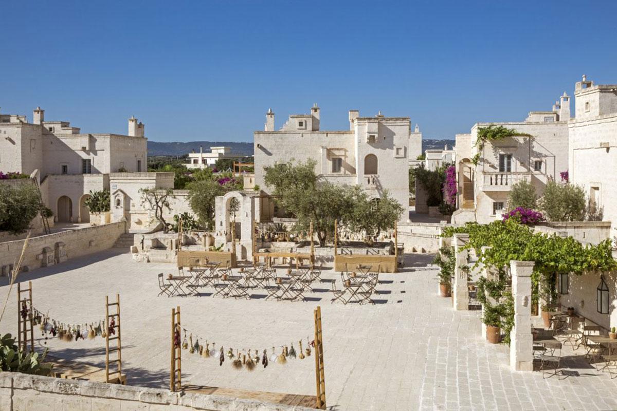 Hotel Borgo Egnazia . Luxusreisen