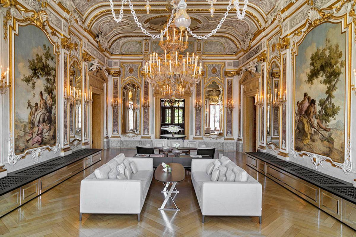 Beeindruckend: Der Ballsaal des Hotel Aman Venice. Luxusreisen