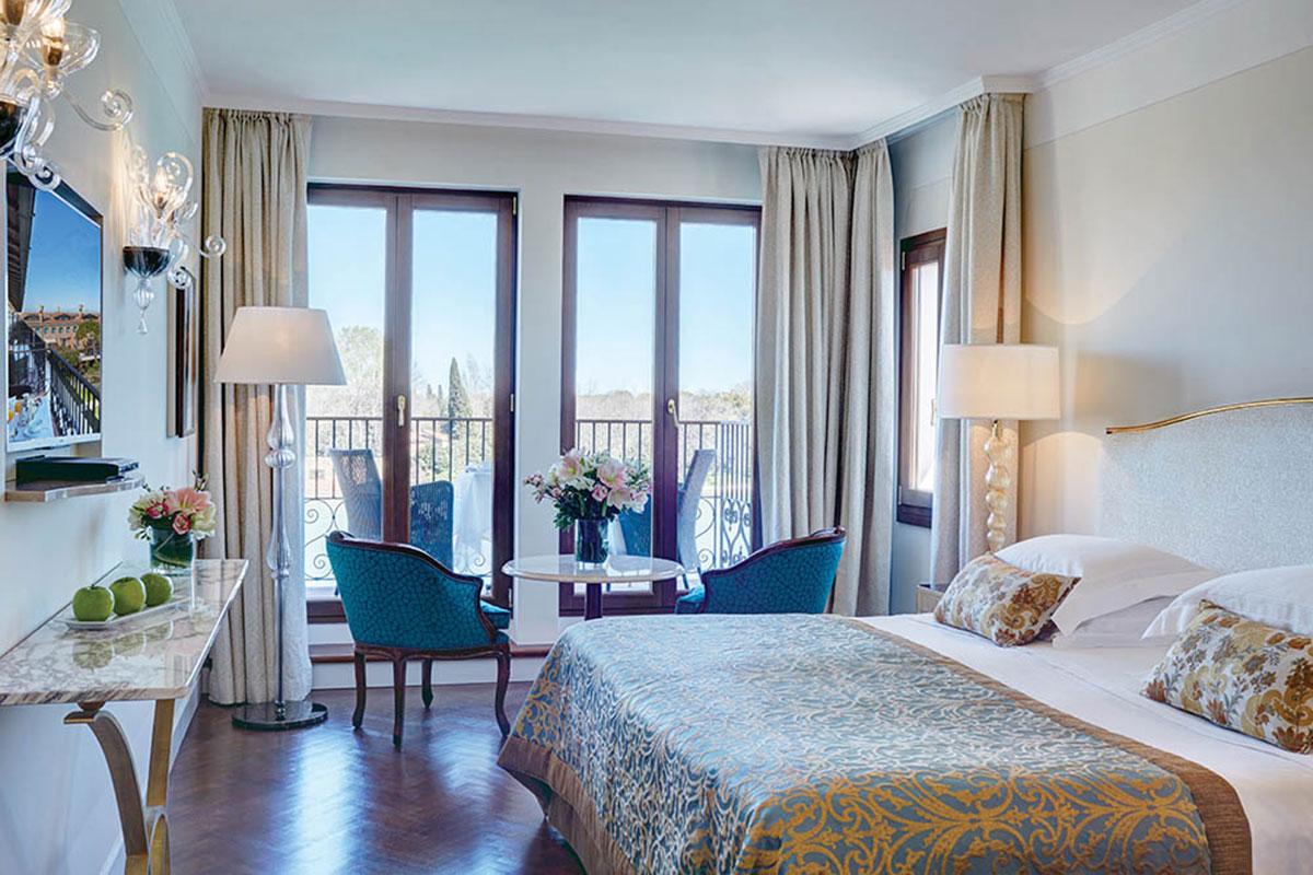 Belmond Hotel Cipriani: Zimmer mit herrlichem Blick. Luxusreisen
