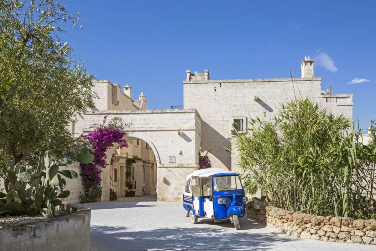 Hotel Borgo Egnazia: Eine der exklusivsten Adressen Apuliens. Luxusreisen