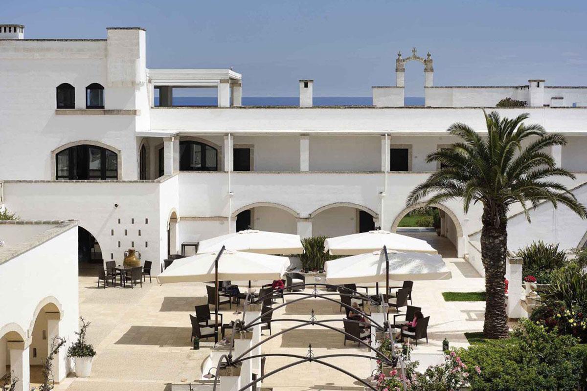 Borgobianco Resort & Spa: Feinstes Essen auf der Sonnenterasse. Luxusreise