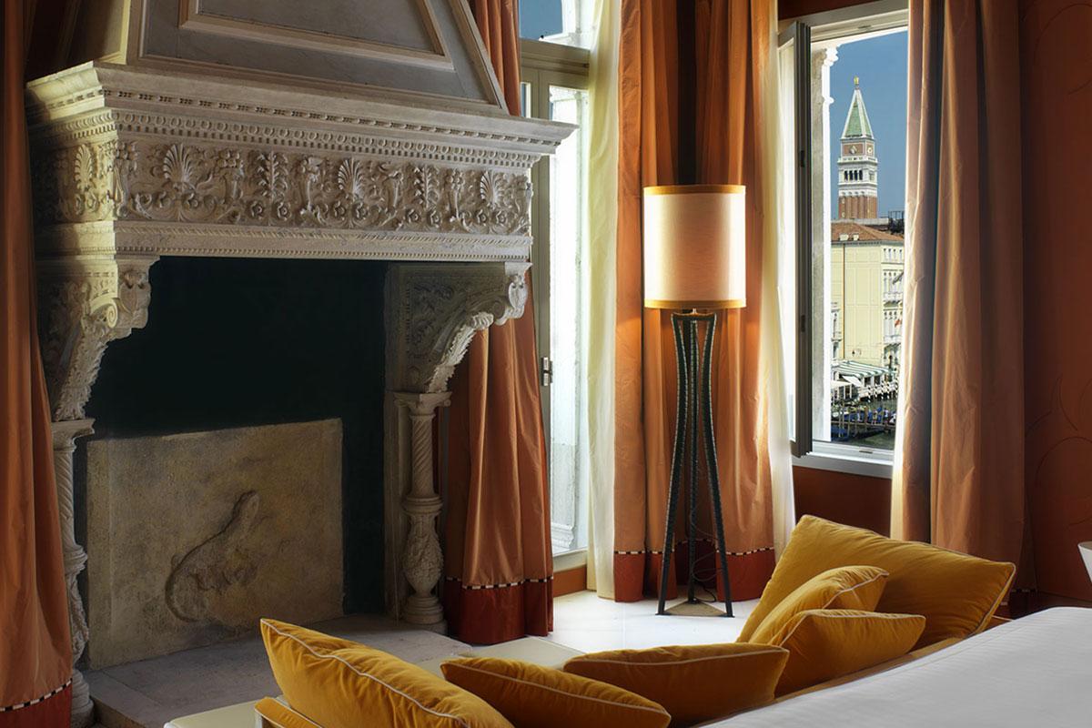 Centurion Palace - Die Junior Suite mit Aussicht auf den Canal Grande. Luxusreisen