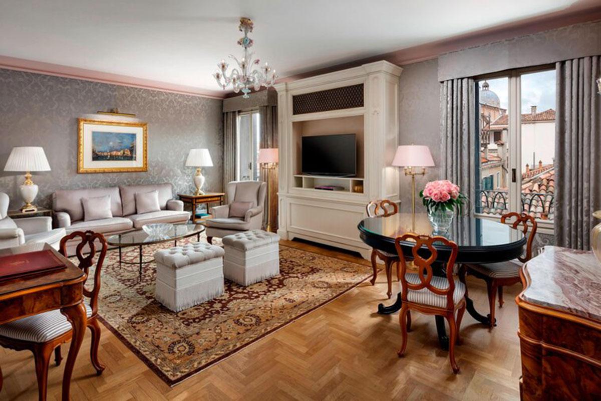 Hotel Danieli: Suite mit Aussicht. Luxusreisen