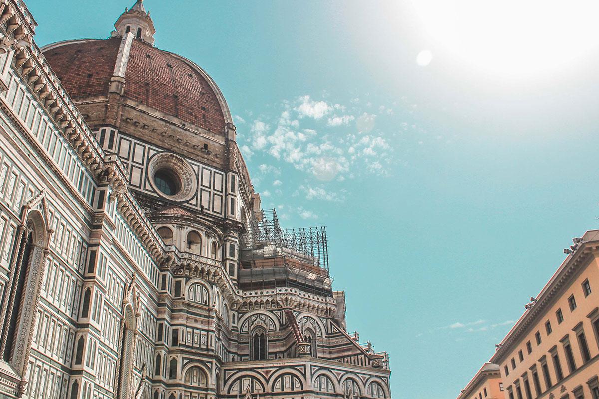 Die Kirche Santa Maria del Fiore in Florenz. Luxusreisen