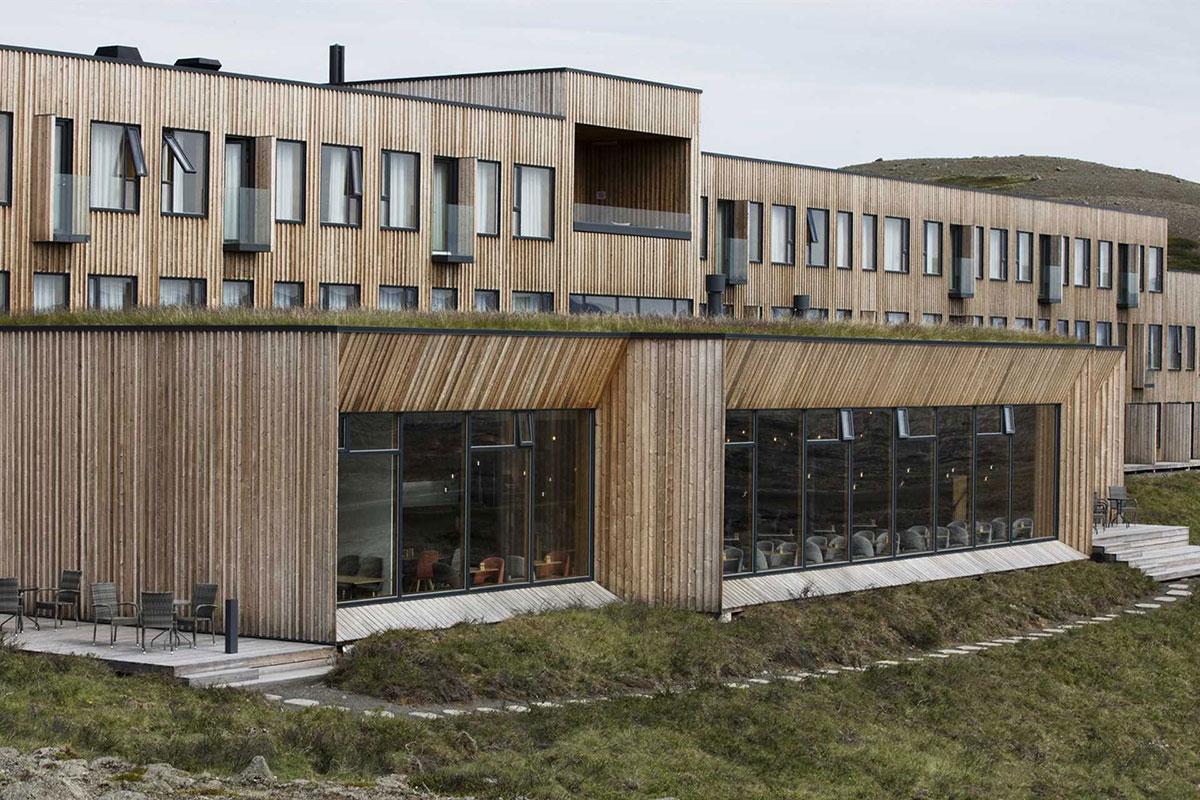Modern und edel: Das Fosshotel Myvatn. Luxusreisen