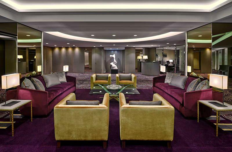 Foyer im Waldorf Astoria Berlin. Luxusreisen