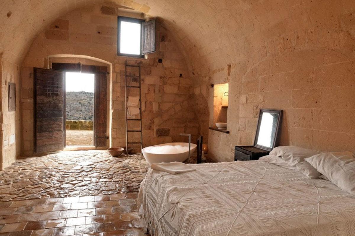 Designhotel Sextantio Le Grotte Della Civita: ein wahres Höhlenabenteuer! Luxusreisen