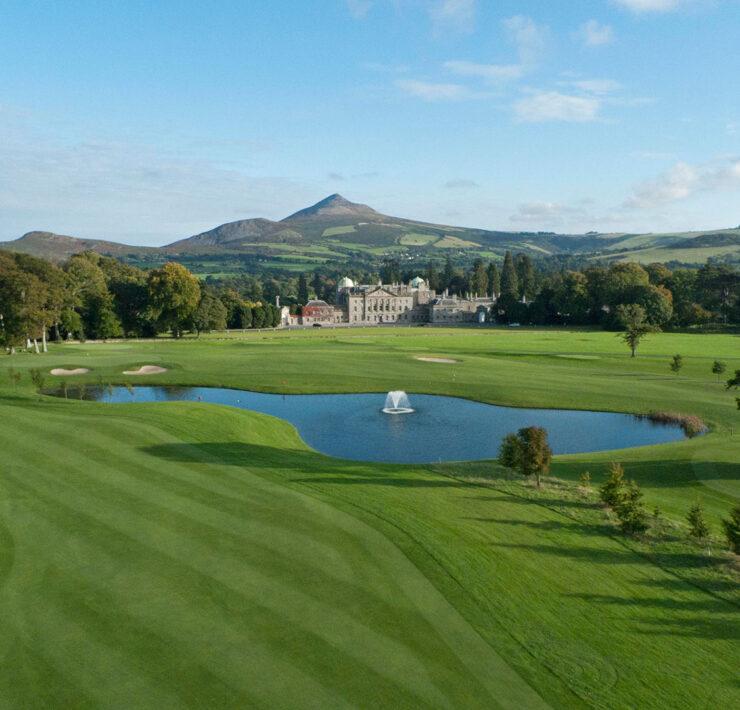 Powerscourt Golf Club. Luxusreise