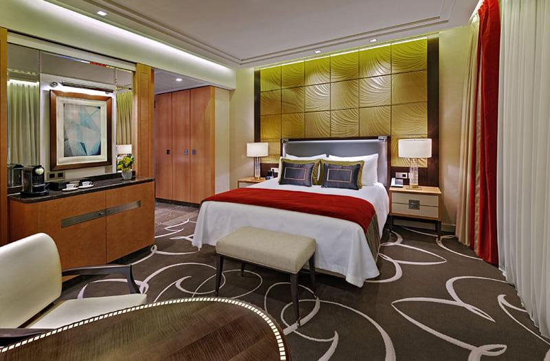 Das Junior Deluxe Zimmer im Waldorf Astoria. Luxusreisen