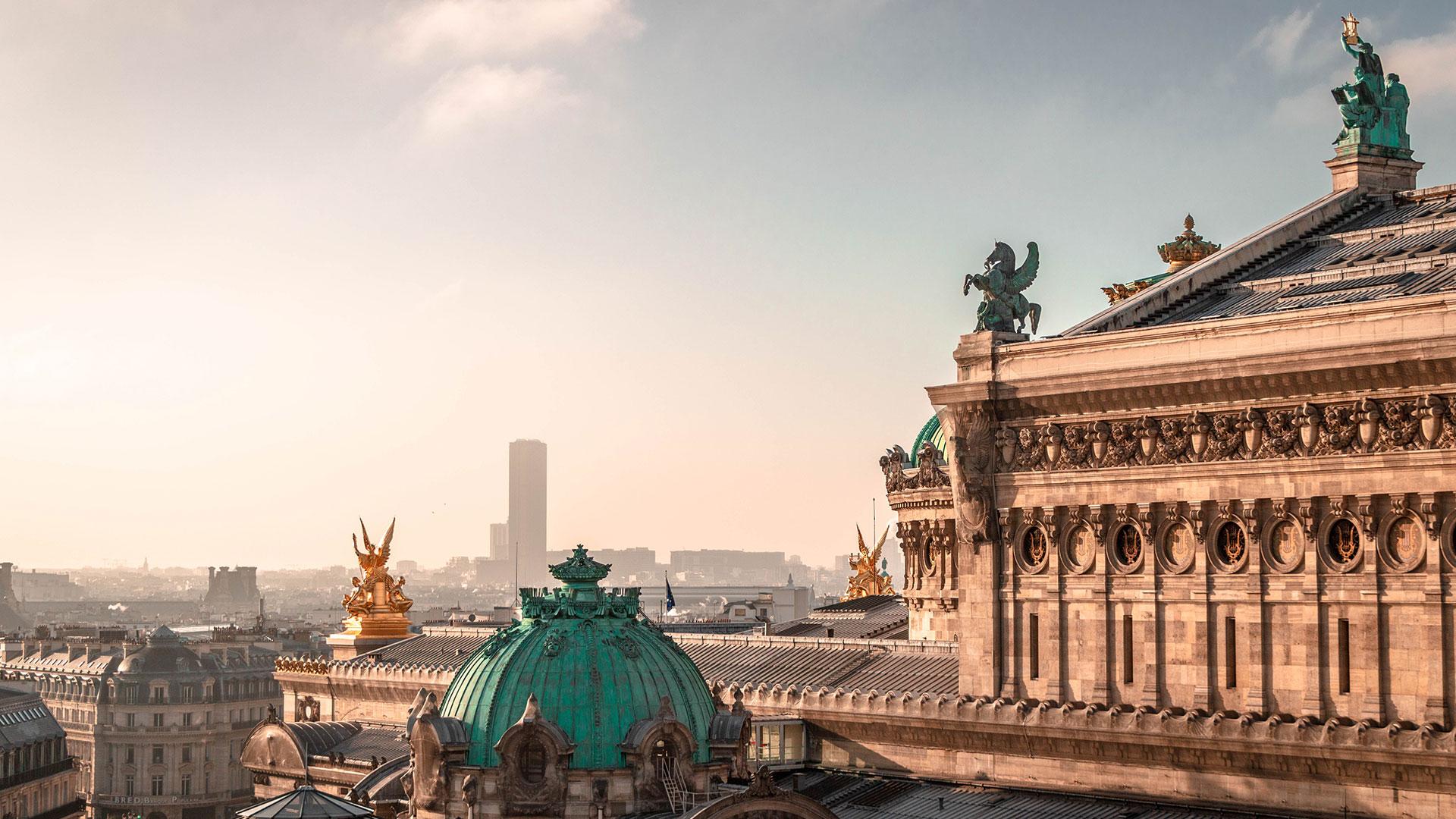 Opéra in Paris. Luxusreisen