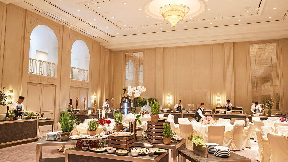 Der neue Ballsaal im Hotel Adlon Kempinski. Luxusreisen