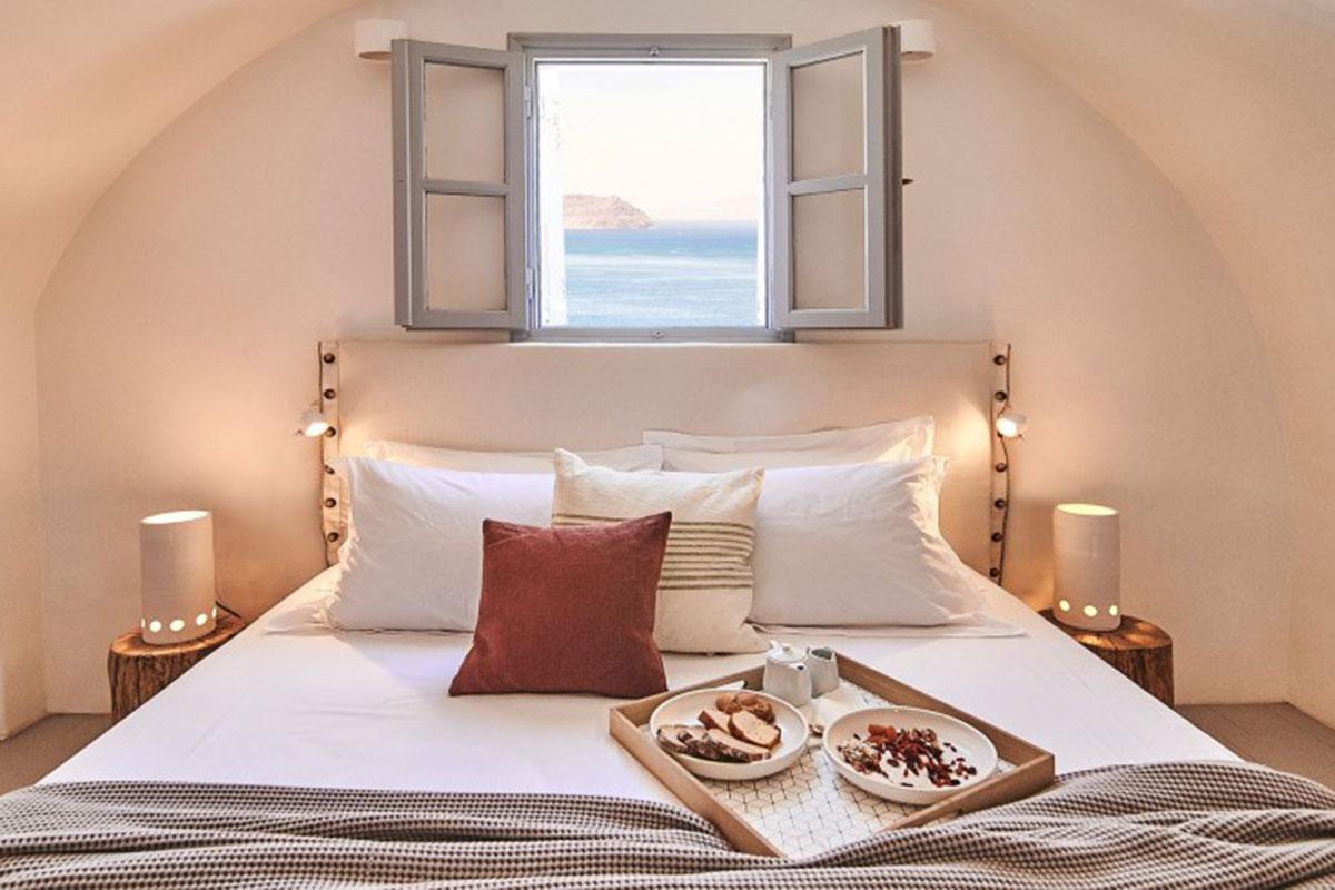 Nature Eco Residence Santorin. Luxusreise