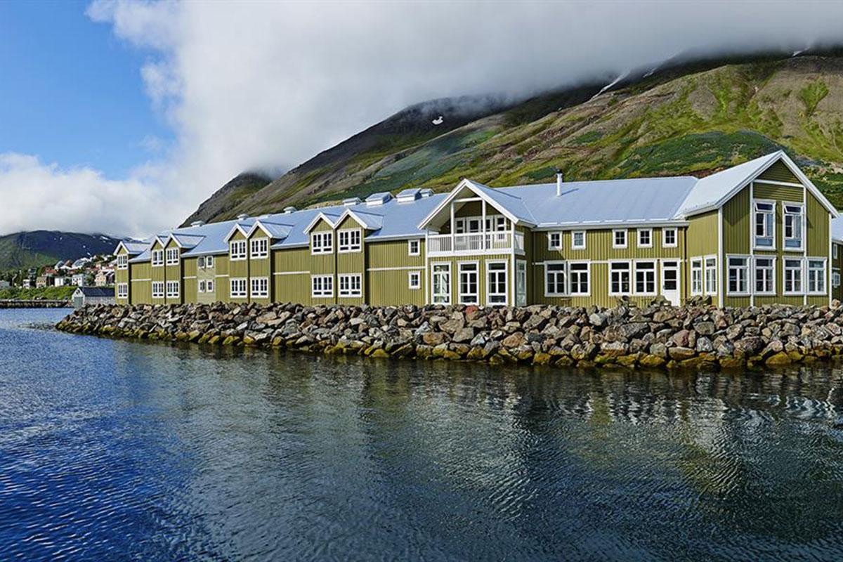 Typisch isländisch: das Hotel Siglo. Luxusreisen