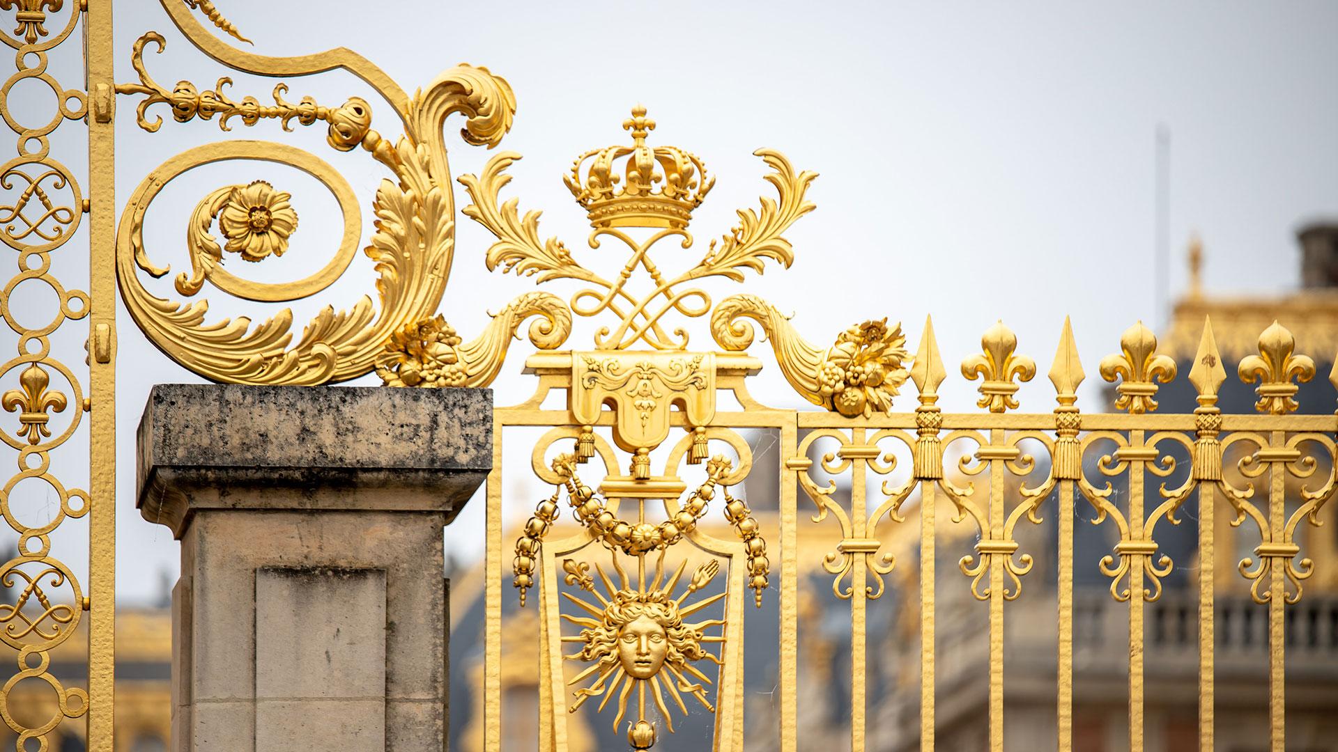 Schloss Versailles. Luxusreisen