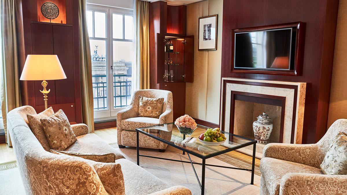Suite im Hotel Adlon. Luxusreisen
