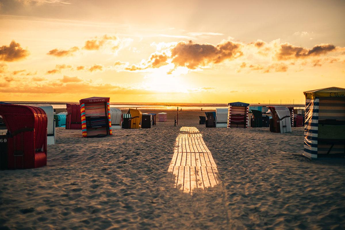 Frei atmen – das ist Borkum. Die Insel bietet einen vielfältigen Mix aus Kultur, Sportangeboten und Natur. © Moritz Kaufmann. Luxusreisen
