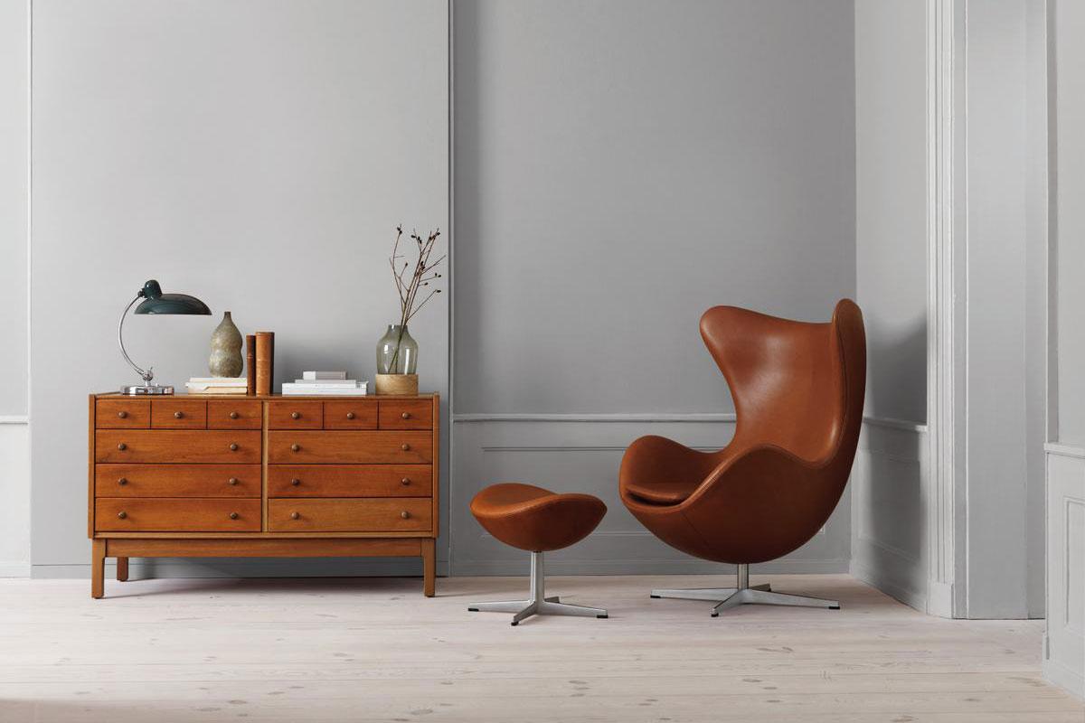 Egg Chair von Arne Jacobsen. Luxusreisen