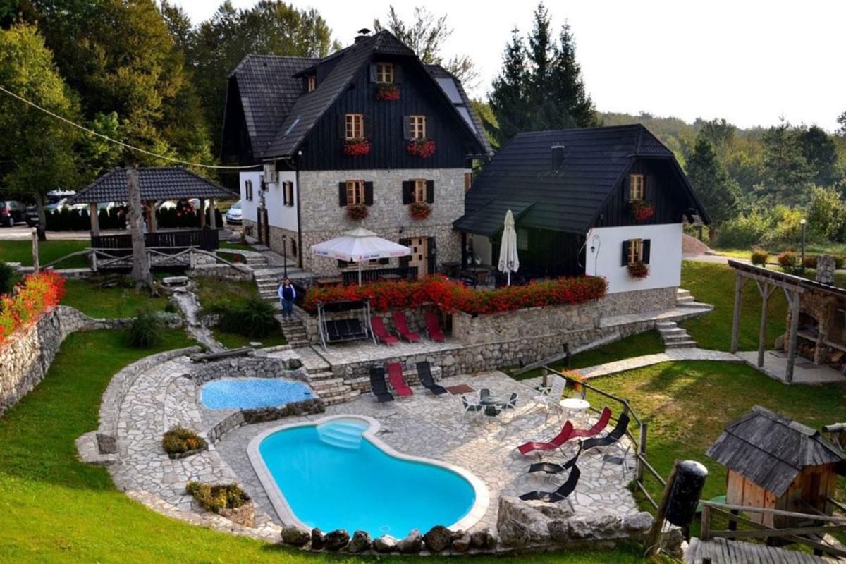 Plitvice Ethno House: Gemütlichkeit und Tradition. Luxusreise