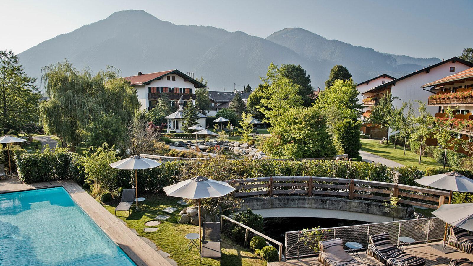 Hotel Bachmair Weissach SPA & Resort. Luxusreisen