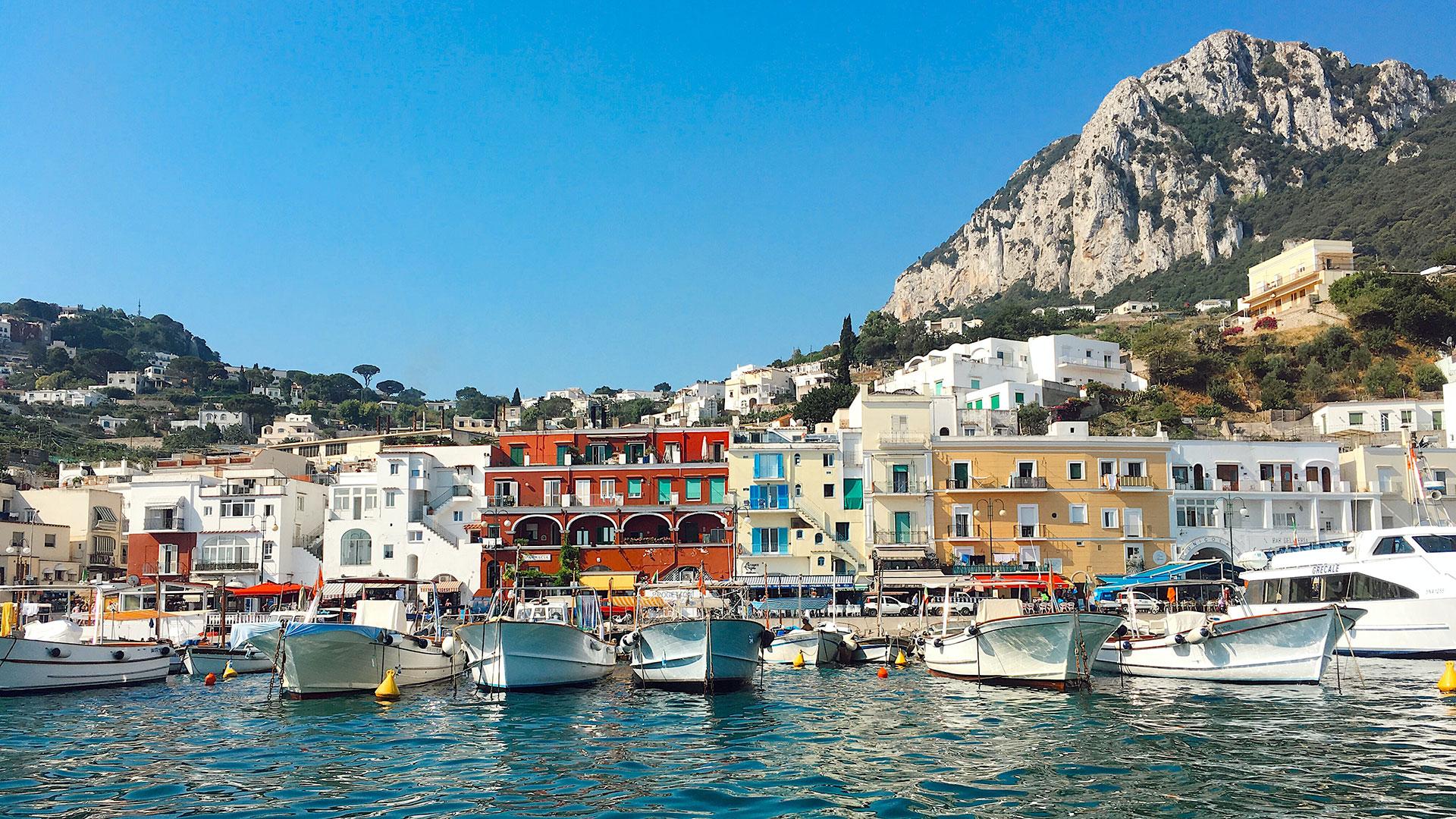 Capri. Luxusreise