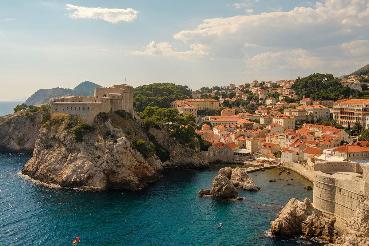 Eine der schönsten Städte in Kroatien: Dubrovnik. Luxusreisen